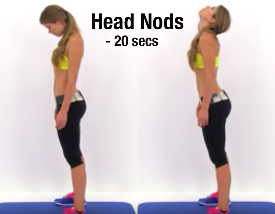 Hunched-shoulder exercise