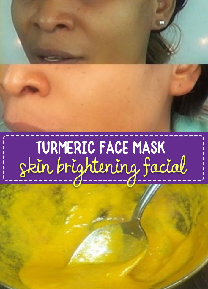 Turmeric Face Mask for Acne Scars